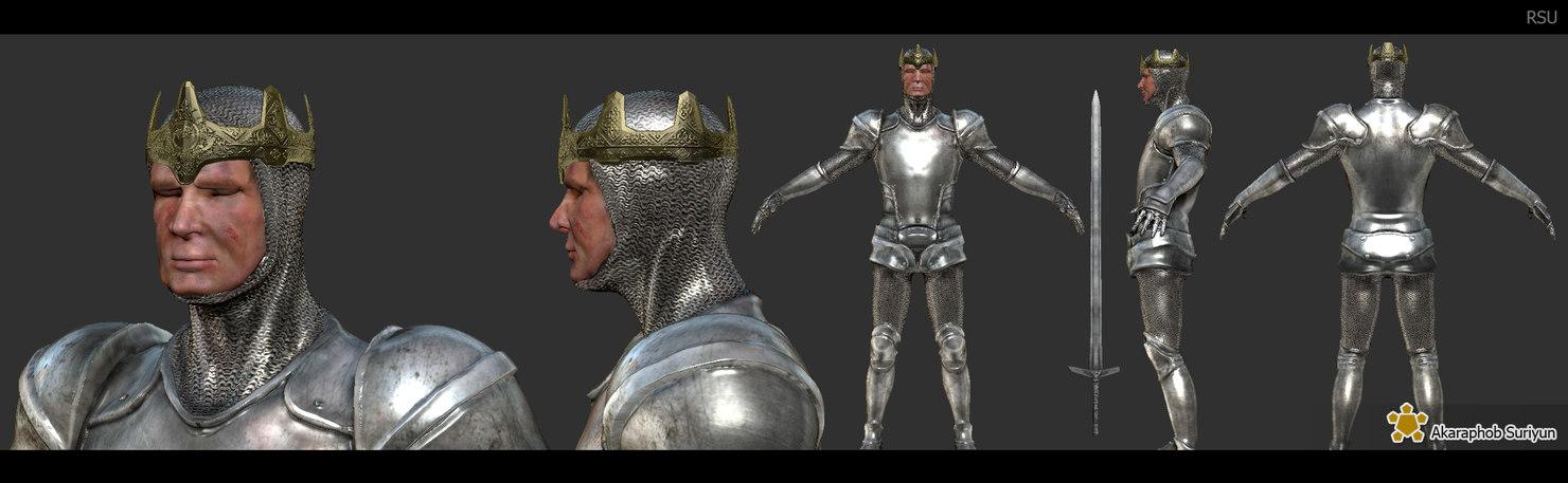 king man obj