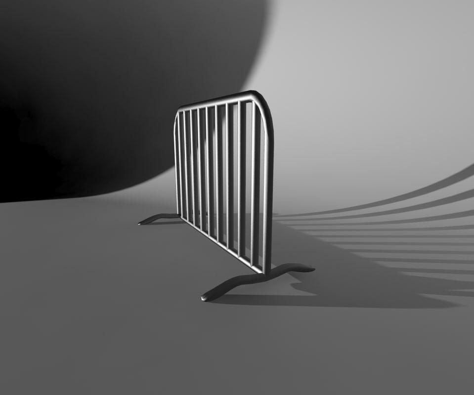 metal barrier max free