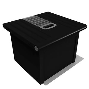 3d obj storage bin