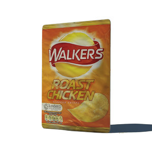 crisps roast chicken 3d obj