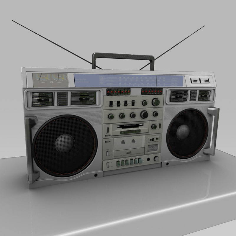 boom box conion c100f 3d obj