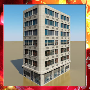 max photorealistic building 10