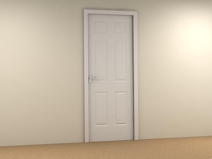 interior door 3ds