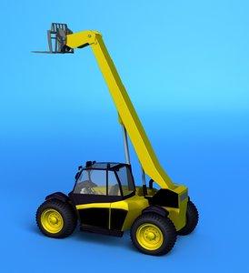 crane vehicle 3d model
