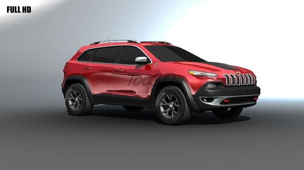 3d jeep cherokee