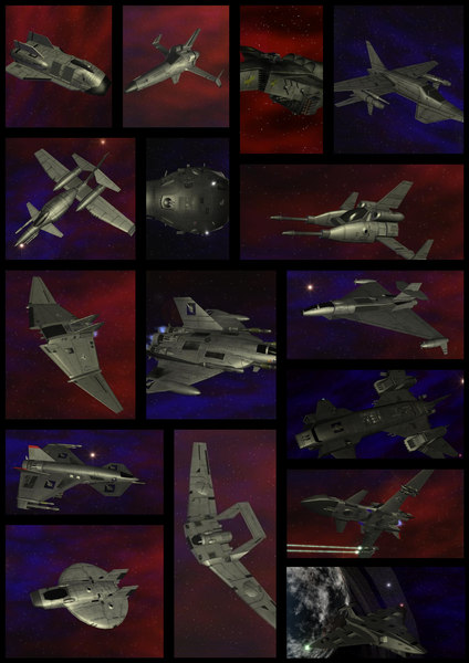 3d battletech battlespace fighters pack