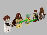 Lego Star Wars Minifigures Collection - Set 2