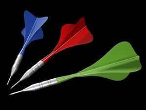 3d model darts