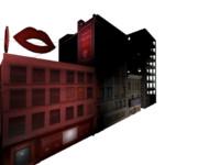 building render 3d model