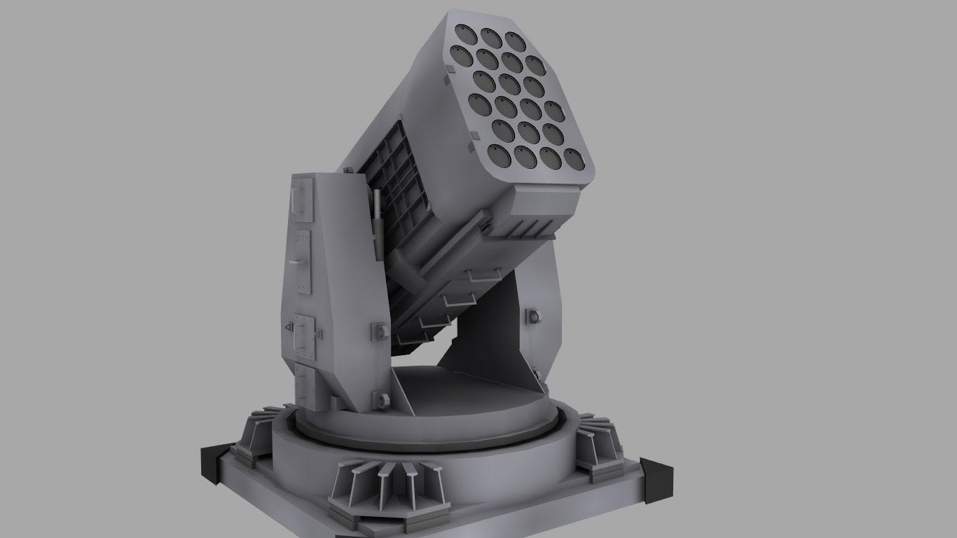obj rim116 missile ram launcher