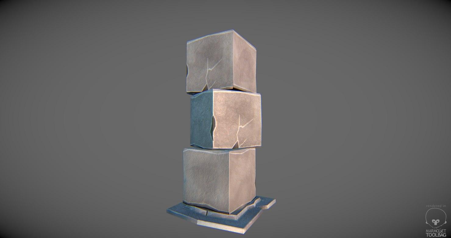 pillar ready handpainted x