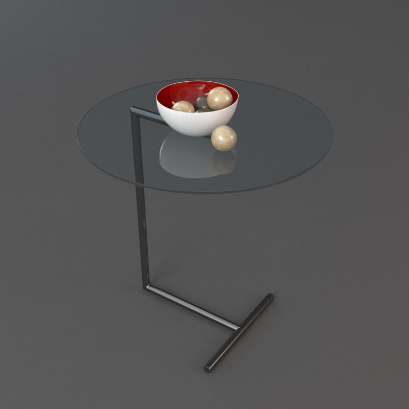 3d max sidetable table