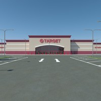 target parking 3d max