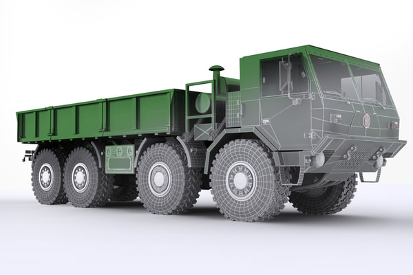 3d czech tatra - model