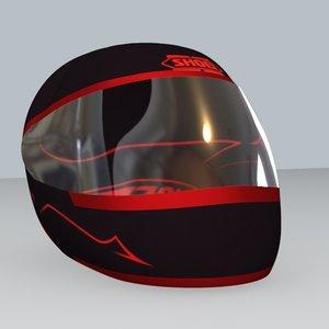 max shoei motorbike helmet