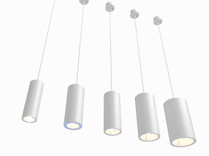 erco cylinder luminaires lighting 3d model