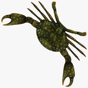 3ds max crab