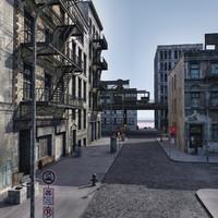 3d model street bronx