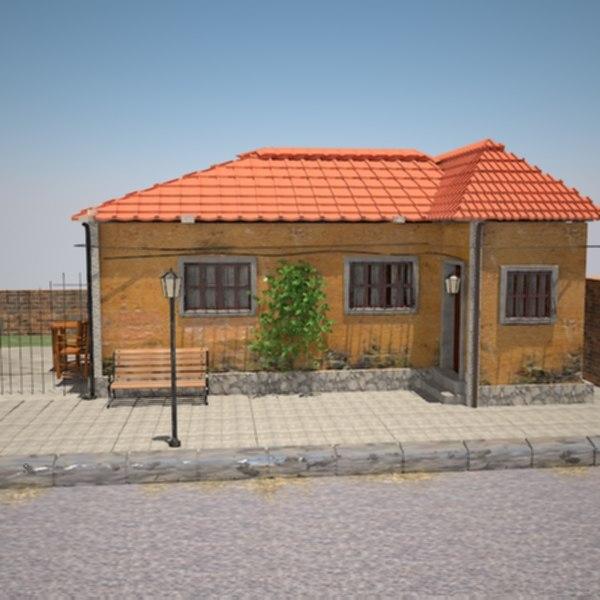 3d model of home landscape