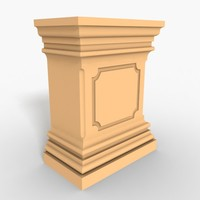 Plinth Block 001