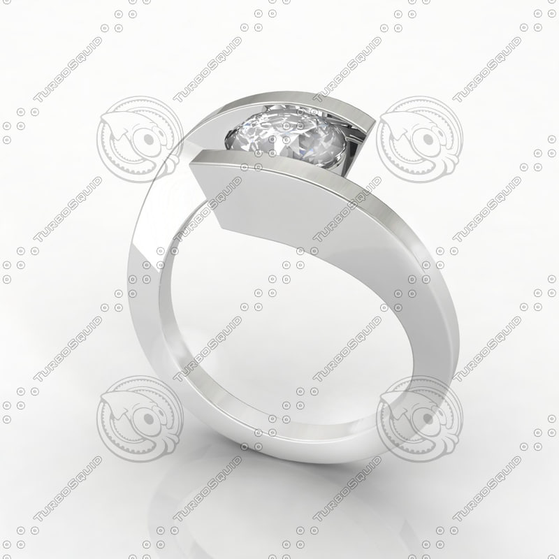 ring design cad 3d model