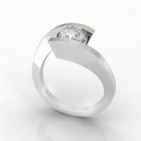 ring design cad 3d model