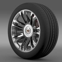 Cadillac Escalade 2013 wheel