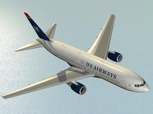 boeing 767-200 er airliner dxf