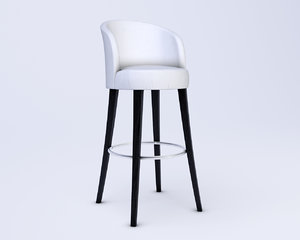 3d wychwood design barchair model