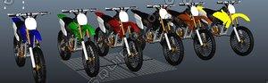 dirt bike crf 3d ma