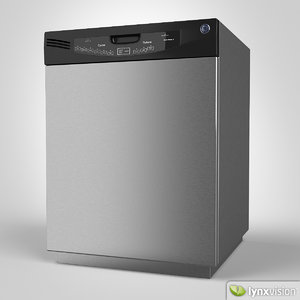 general electric dishwasher 3d model