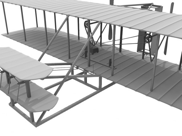 lightwave flyer wright plane