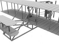 lightwave flyer wright plane