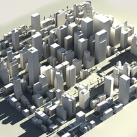 real time city street 3d model