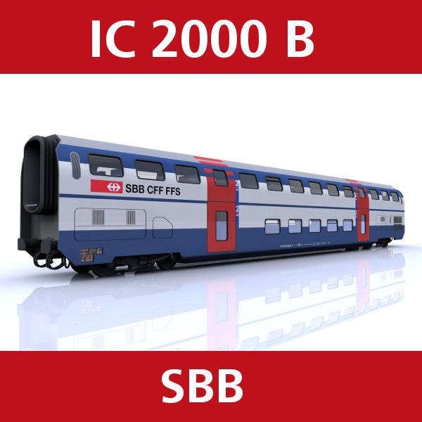 passenger swiss railroad 3ds