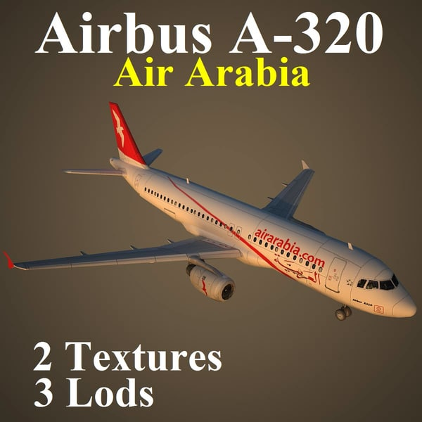 3d airbus aby model
