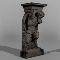 Dresden Statue Pan 03