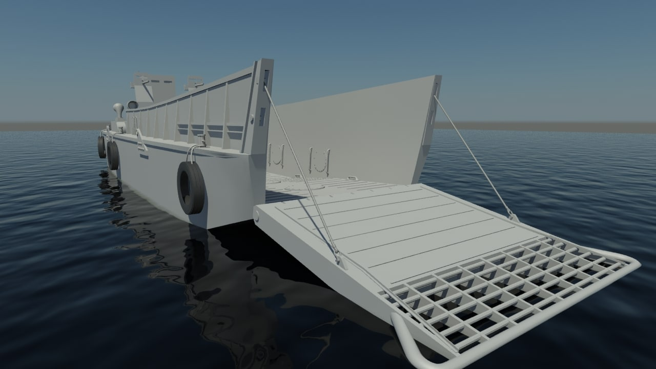 3d model lcm3 transport craft