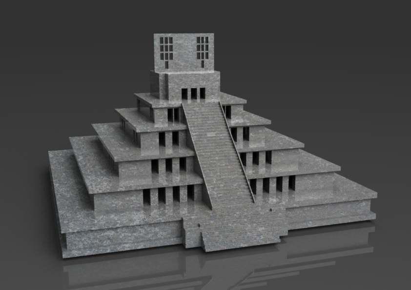 3ds max temple floor