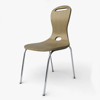 3d model oslo chair design