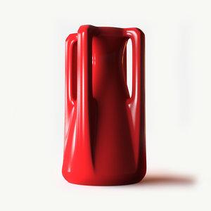 3d model teco prairie vase