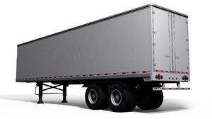 3d semi trailer model