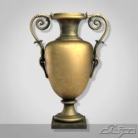 3d model vase 3