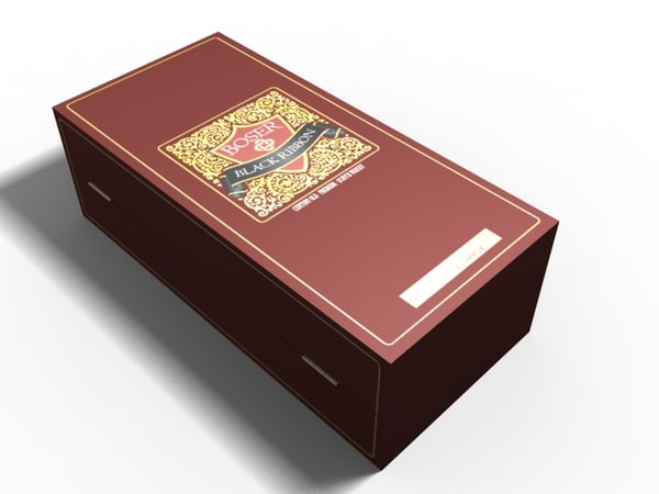 3d model whiskey box