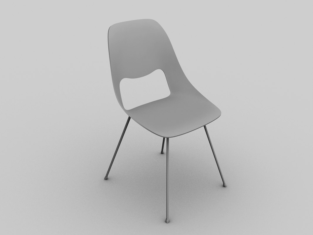 free chair furniture 3d model