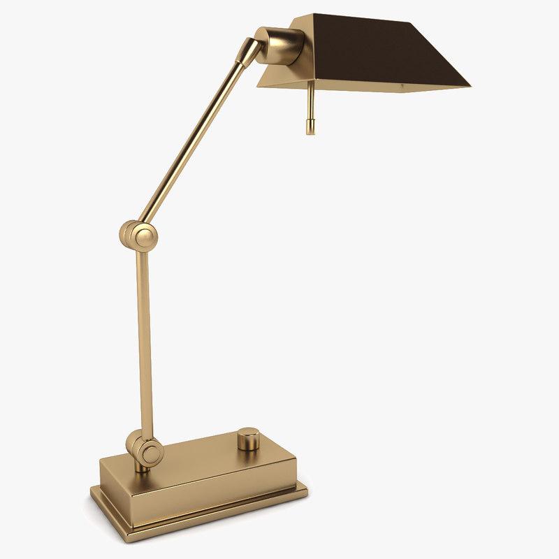 3d desk lamp