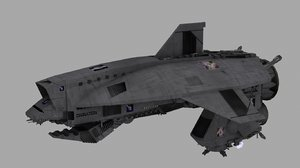 3ds jocasta warship