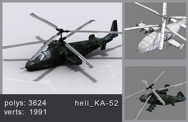 max helicopter ka-52