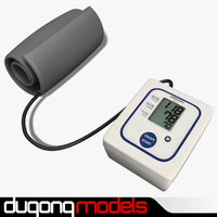 3d 3ds dugm04 blood pressure monitor