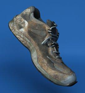 lwo old sneakers